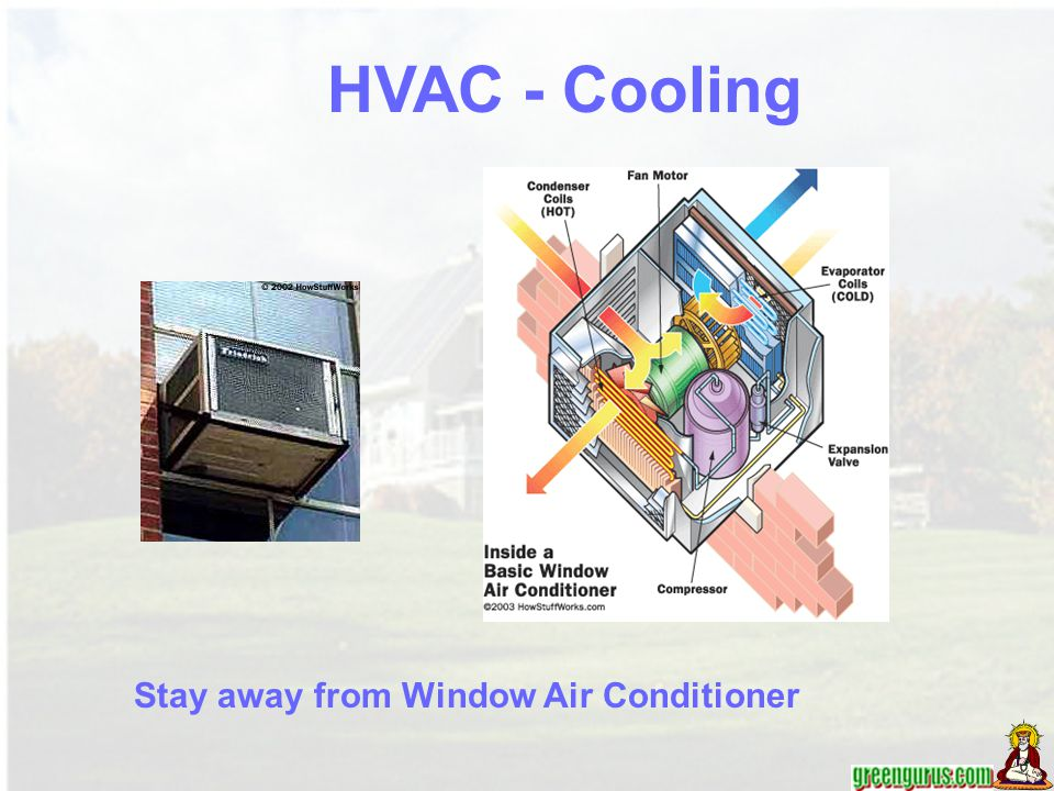 HVAC - Cooling Stay away from Window Air Conditioner