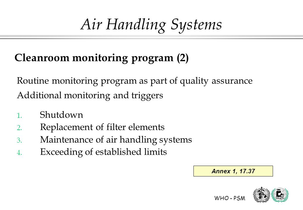 Cleanroom monitoring program (2)