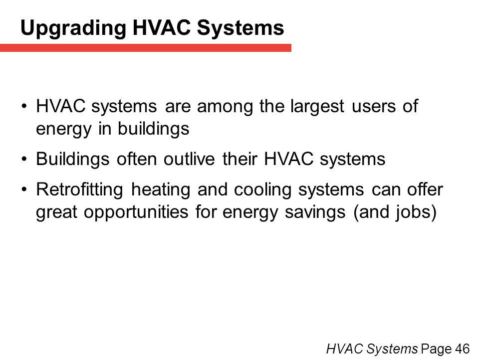 Upgrading HVAC Systems