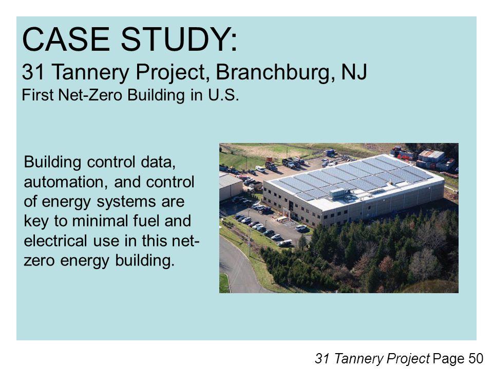 CASE STUDY: 31 Tannery Project, Branchburg, NJ