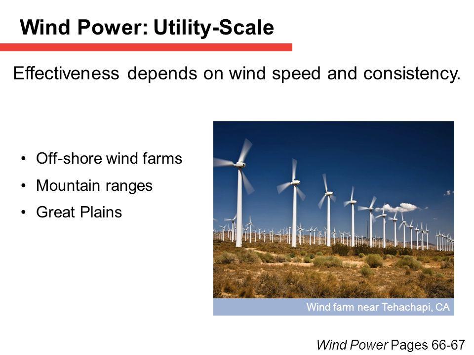 Wind Power: Utility-Scale