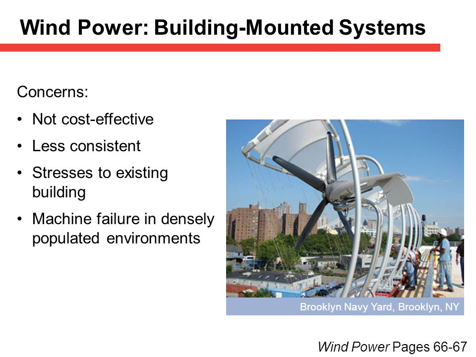 Wind Power: Building-Mounted Systems