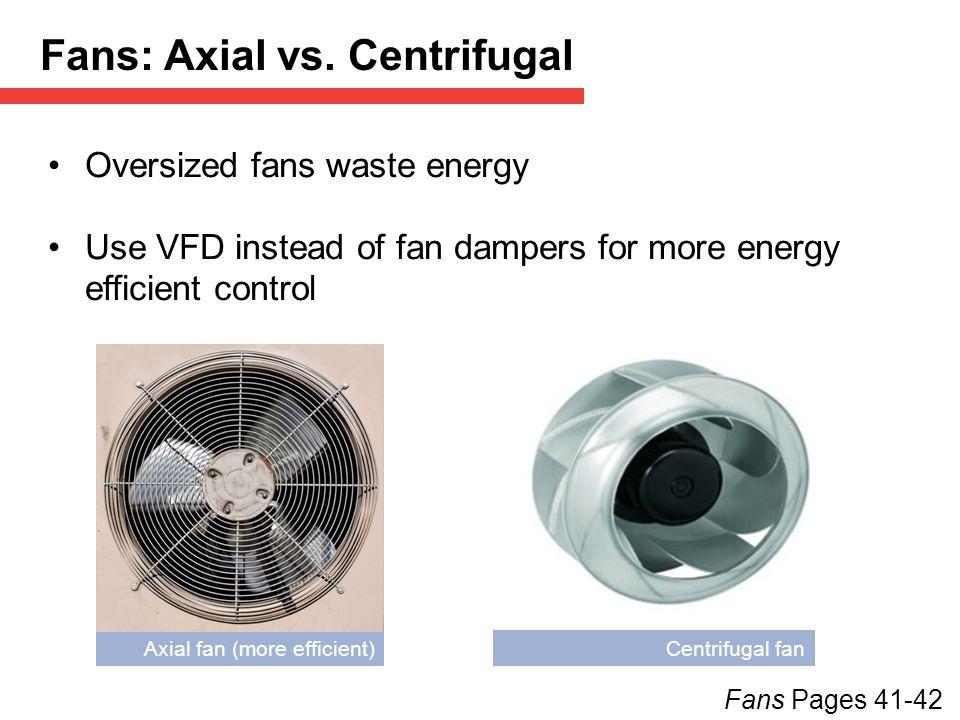Fans: Axial vs. Centrifugal