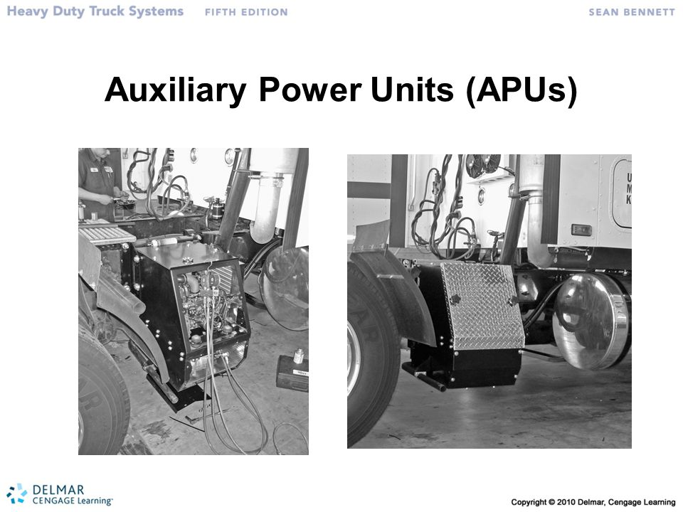 Auxiliary Power Units (APUs)