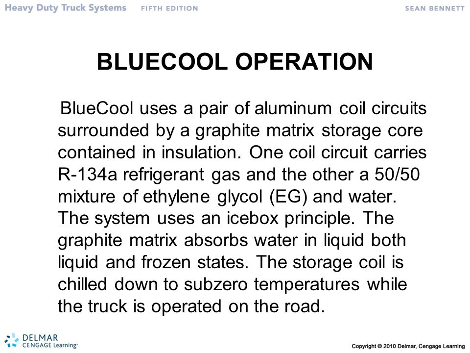 BLUECOOL OPERATION