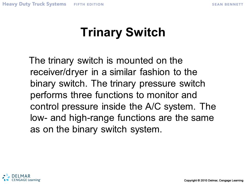 Trinary Switch
