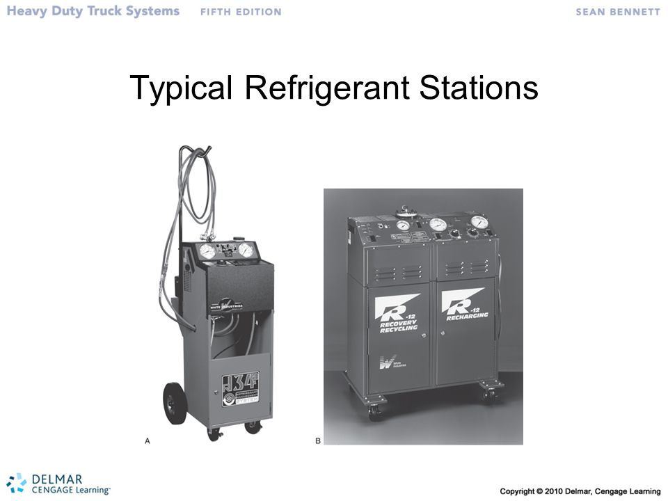 Typical Refrigerant Stations