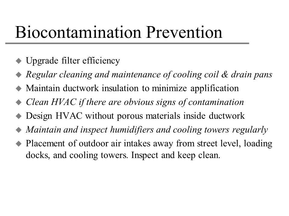 Biocontamination Prevention