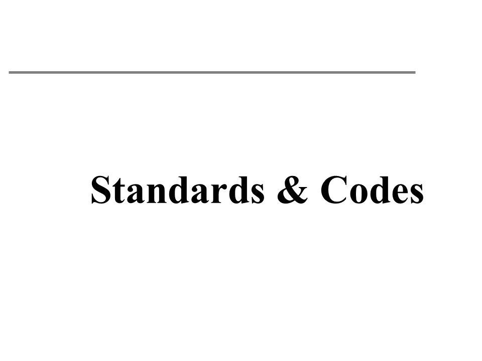 Standards & Codes