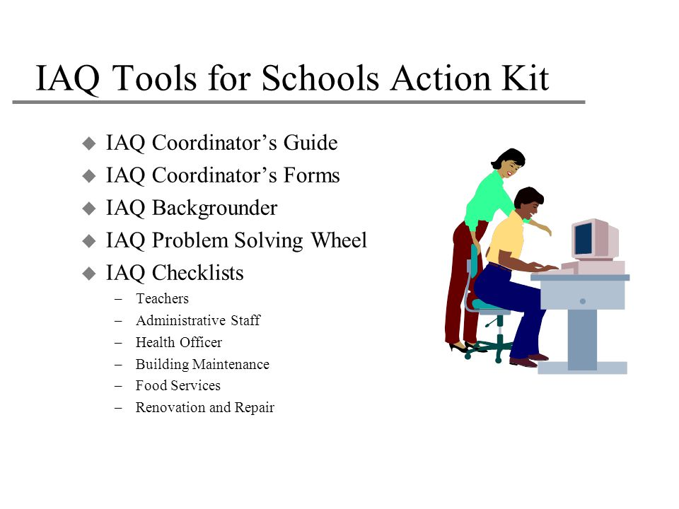 IAQ Tools for Schools Action Kit