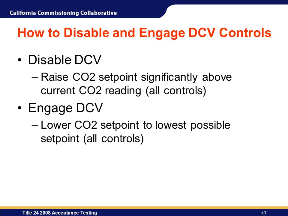 How to Disable and Engage DCV Controls