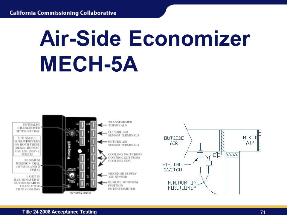 Air-Side Economizer MECH-5A