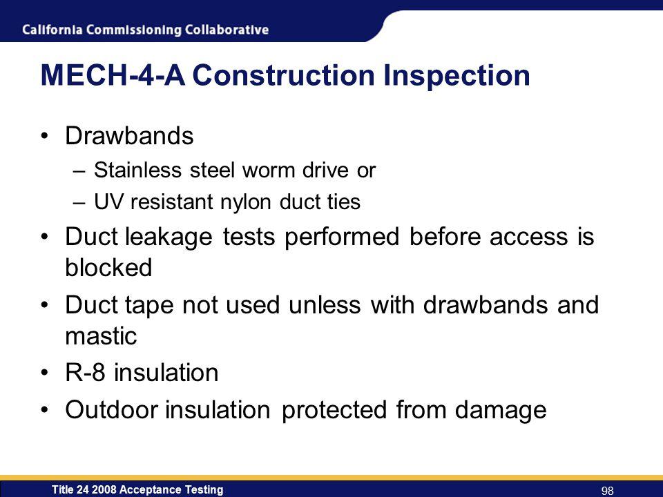 MECH-4-A Construction Inspection