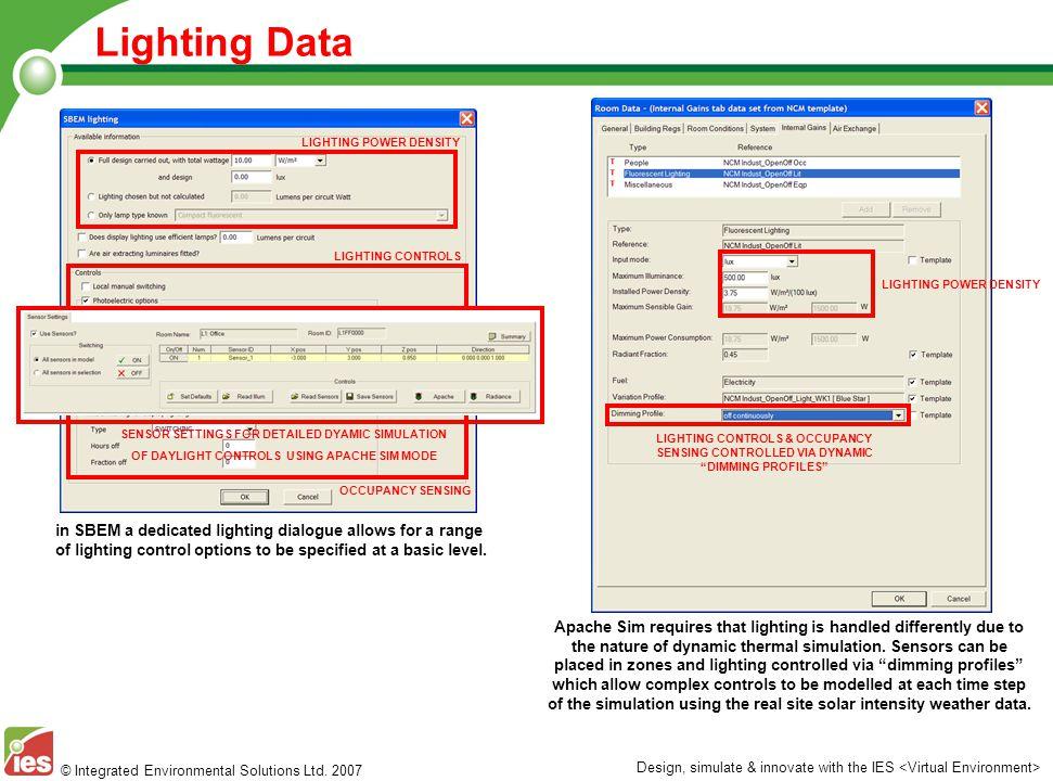 Lighting Data