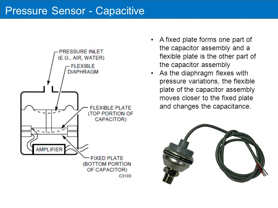 Pressure Sensor - Capacitive