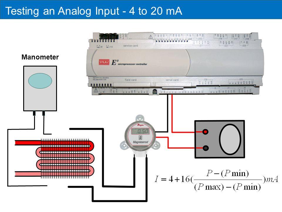 Testing an Analog Input - 4 to 20 mA