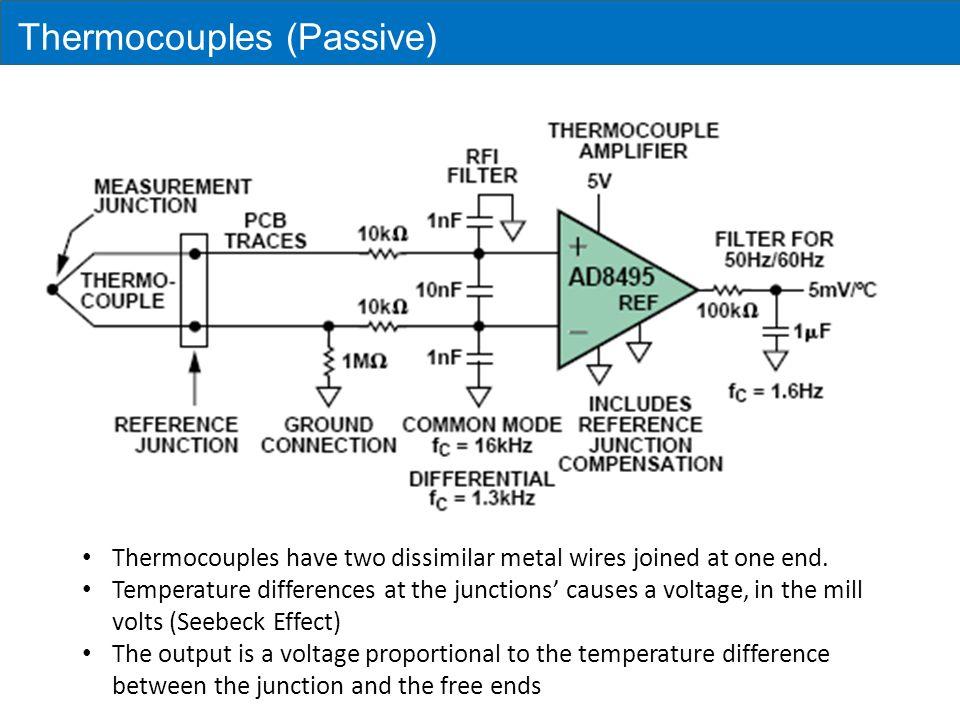 Thermocouples (Passive)