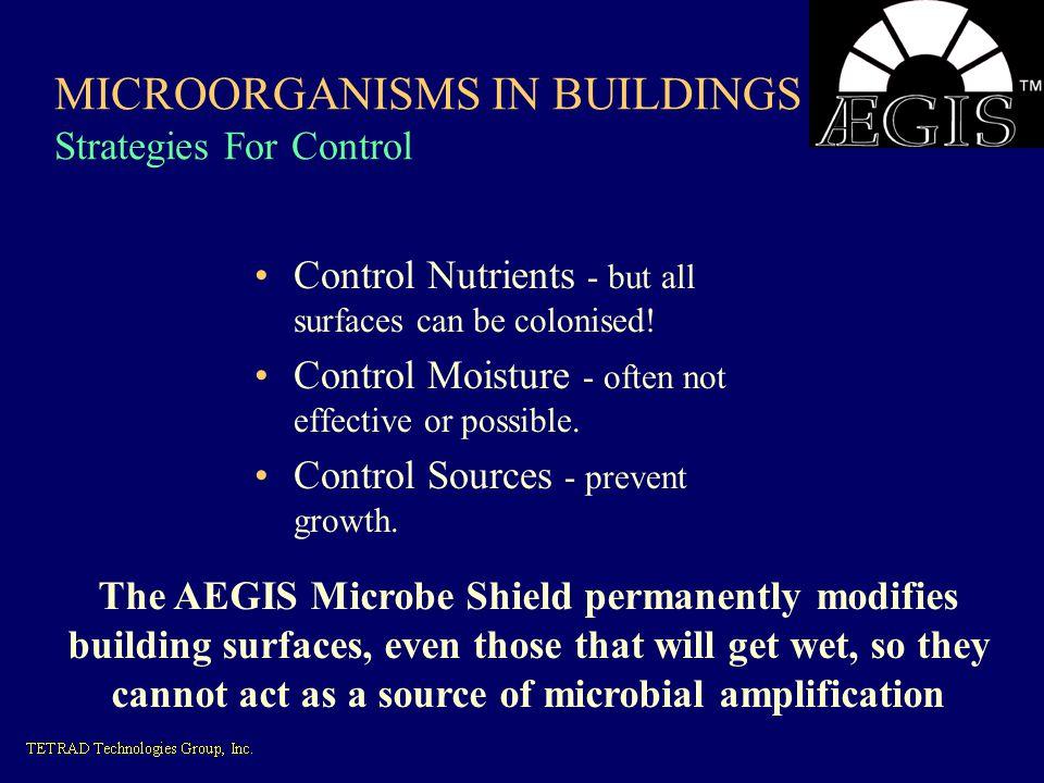 MICROORGANISMS IN BUILDINGS Strategies For Control