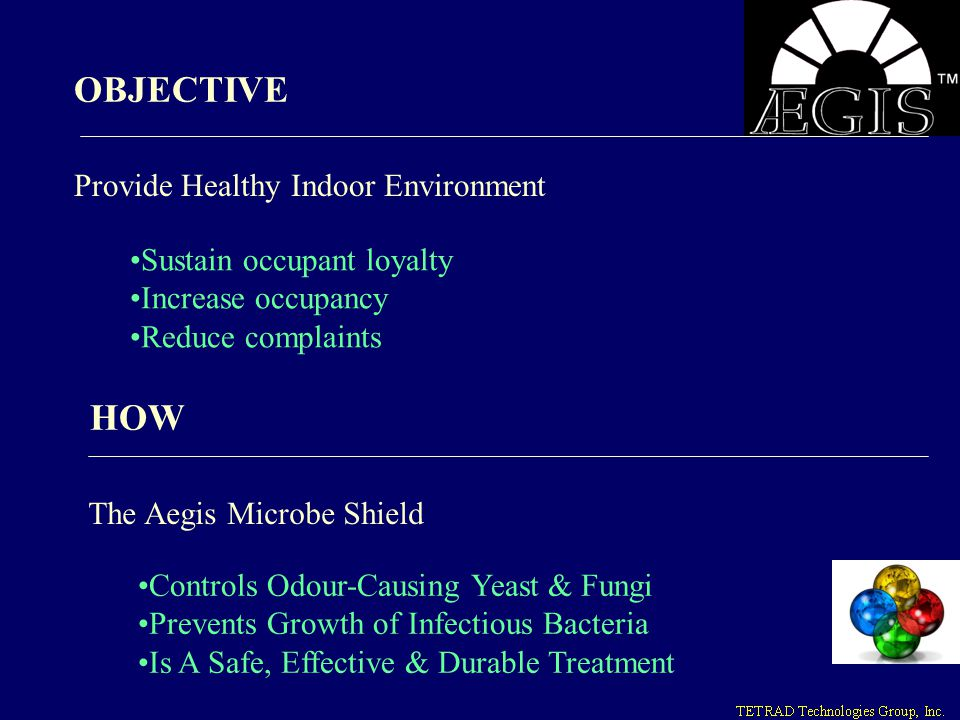 OBJECTIVE HOW Provide Healthy Indoor Environment