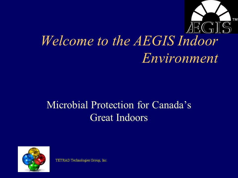 Welcome to the AEGIS Indoor Environment