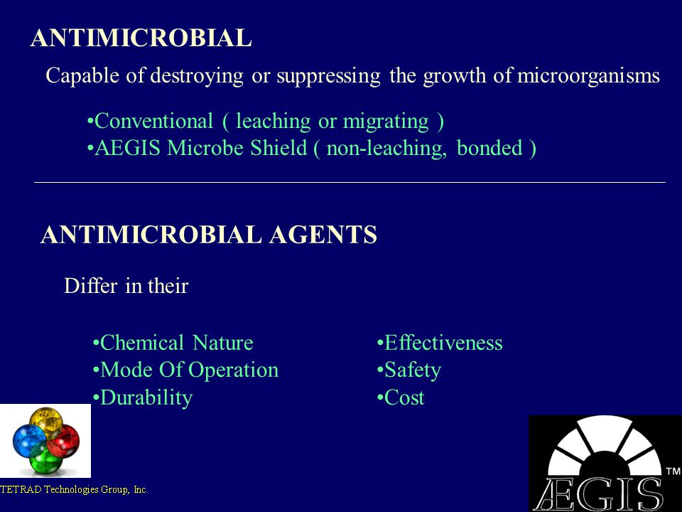 ANTIMICROBIAL ANTIMICROBIAL AGENTS