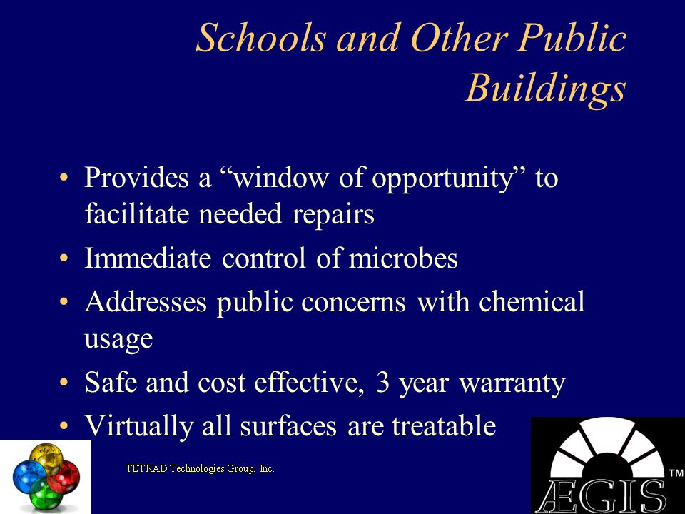 Schools and Other Public Buildings