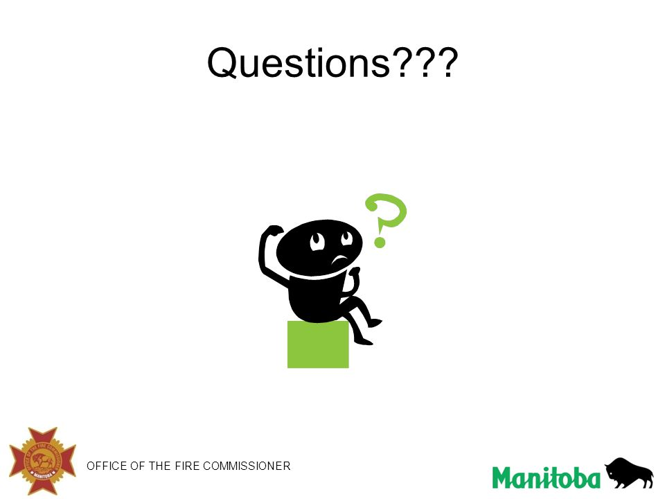 Questions OFFICE OF THE FIRE COMMISSIONER