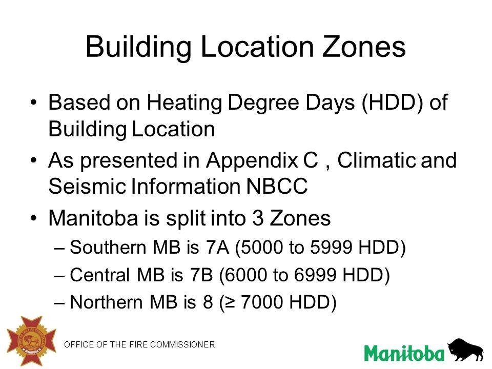 Building Location Zones