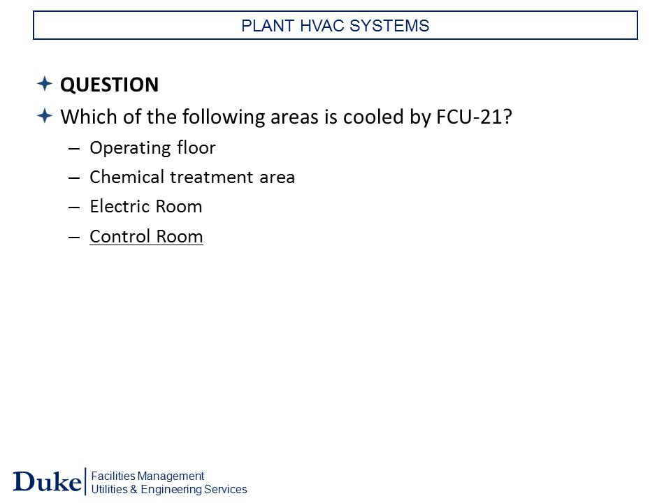 Which of the following areas is cooled by FCU-21
