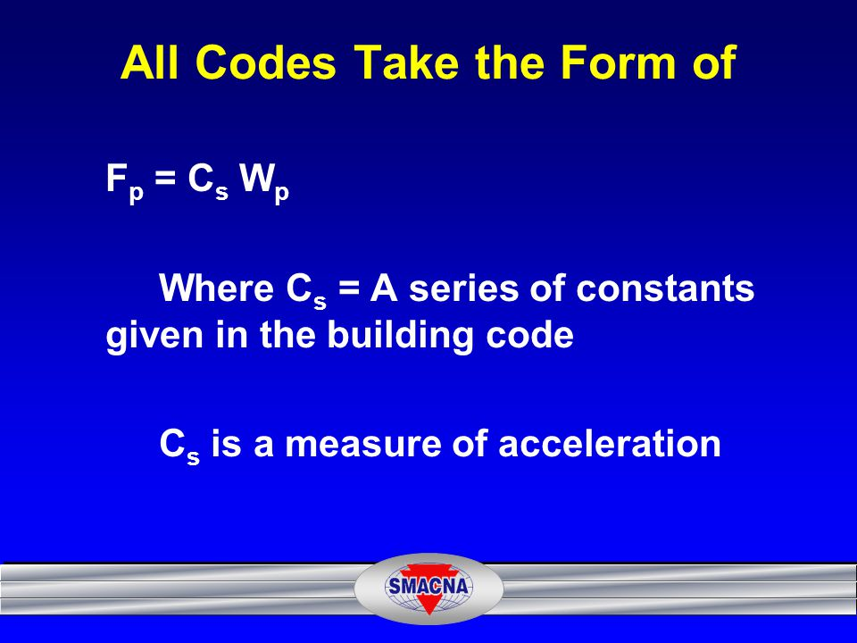 All Codes Take the Form of