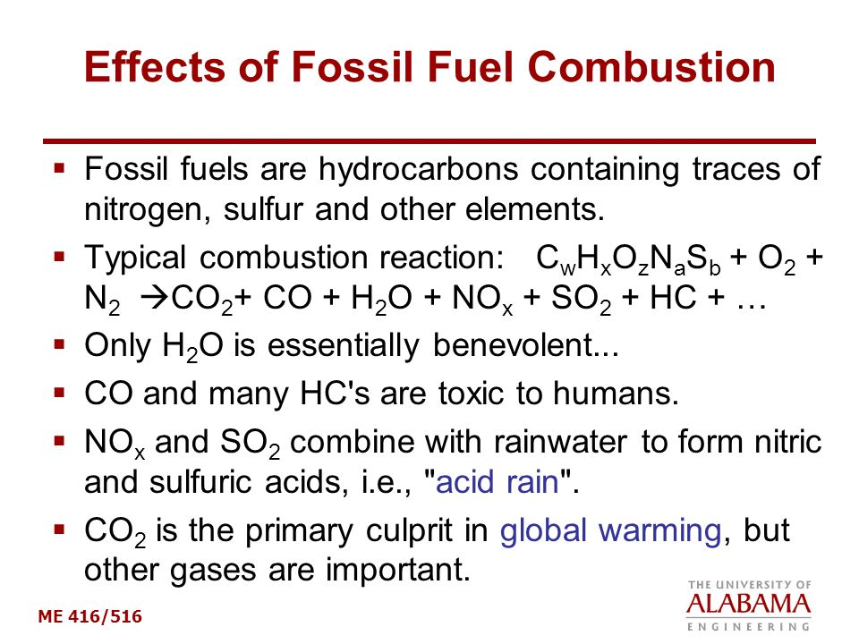 negative effects fossil fuels The carbon cycle, climate, and the long-term if we continue to burn oil and coal and other fossil fuels at ever effects of fuel and forest conservation on.