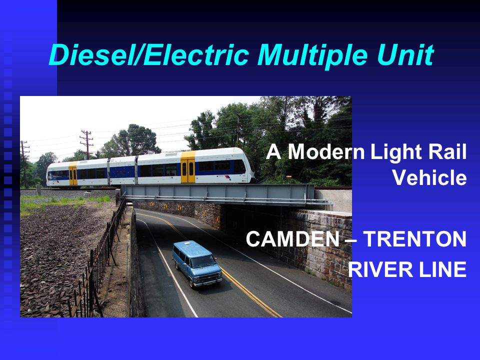 Diesel/Electric Multiple Unit