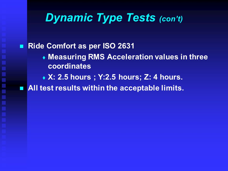 Dynamic Type Tests (con't)