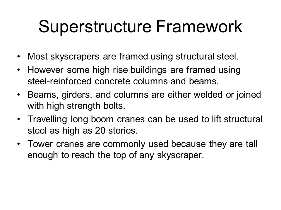Superstructure Framework