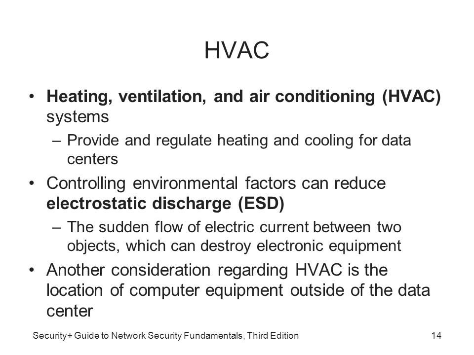 HVAC Heating, ventilation, and air conditioning (HVAC) systems