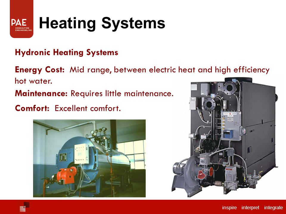 Pae consulting engineers inc nick collins p e leed for Efficient hot water systems