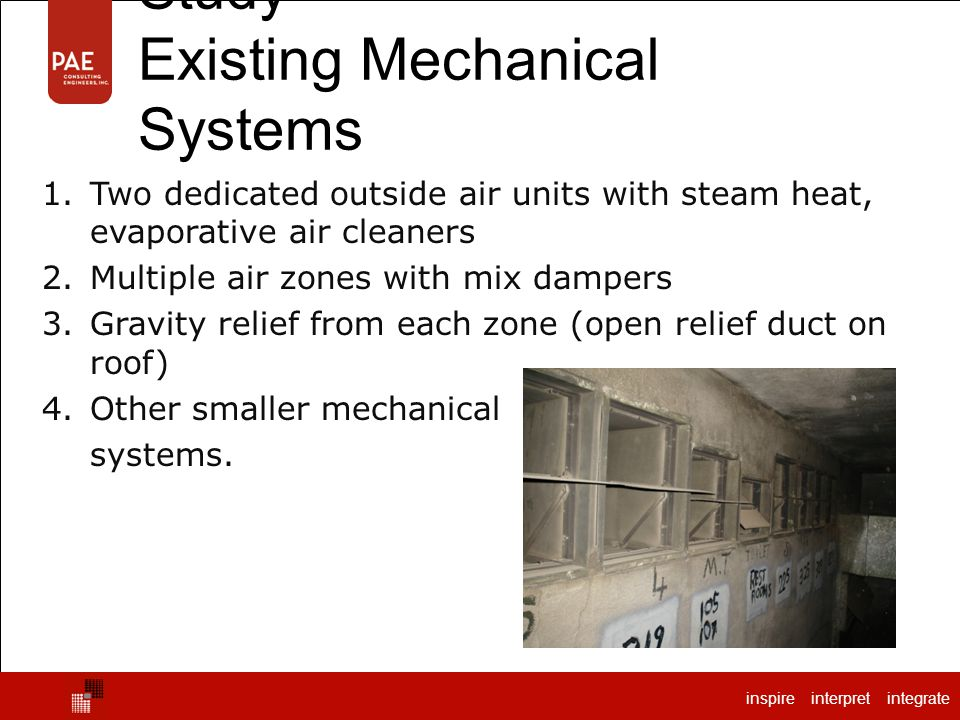 Shattuck Hall – Case Study Existing Mechanical Systems