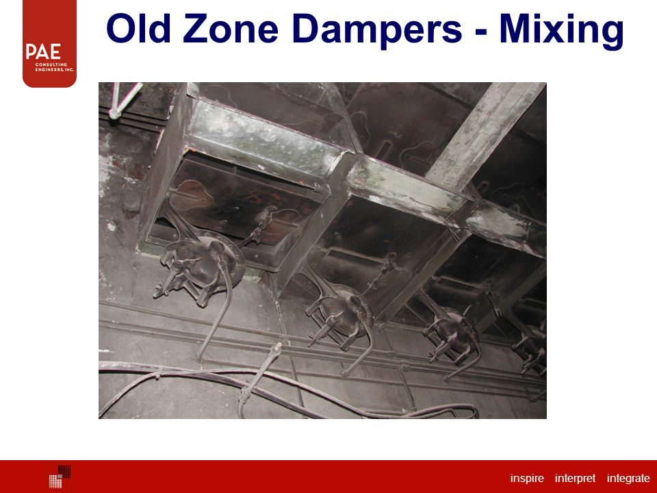 Old Zone Dampers - Mixing
