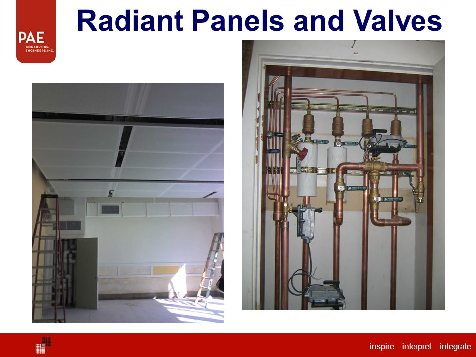 Radiant Panels and Valves