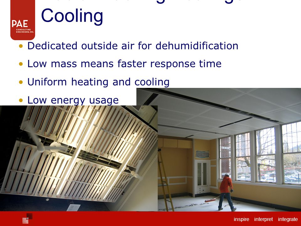 Radiant Ceiling Heating / Cooling