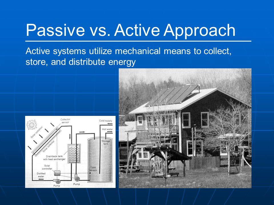 Passive vs. Active Approach