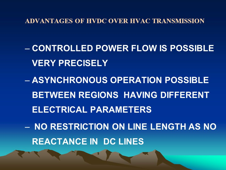 CONTROLLED POWER FLOW IS POSSIBLE VERY PRECISELY