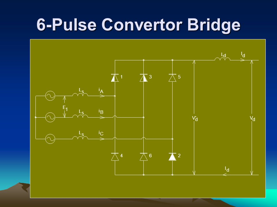 6-Pulse Convertor Bridge