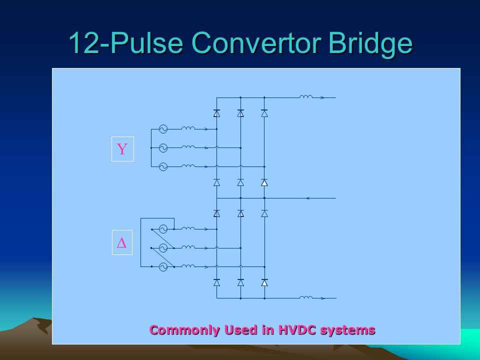 12-Pulse Convertor Bridge