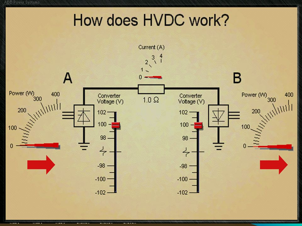Decrease voltage at station B or increase voltage at station A