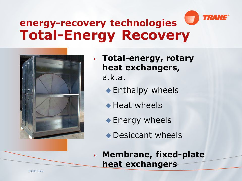 energy-recovery technologies Total-Energy Recovery