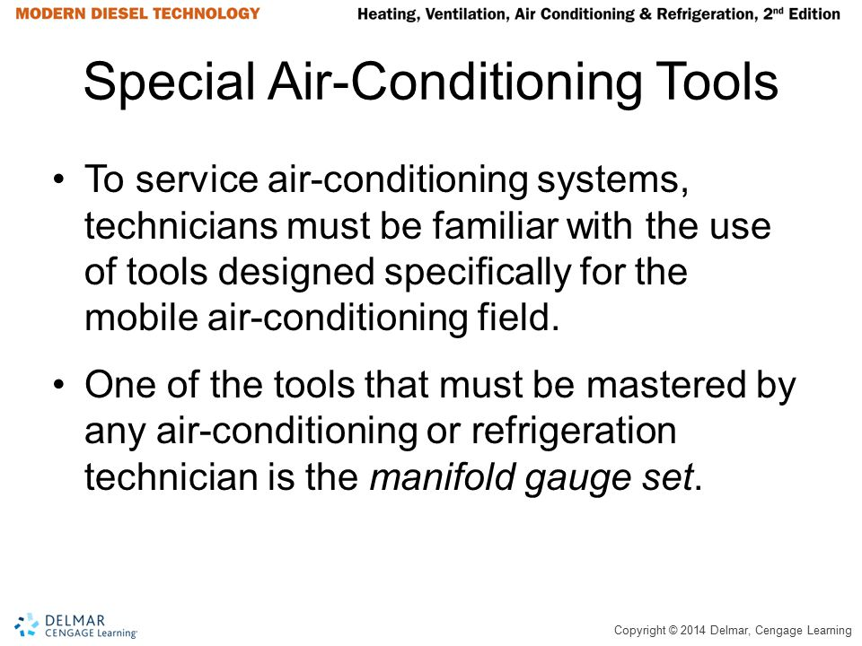 Special Air-Conditioning Tools