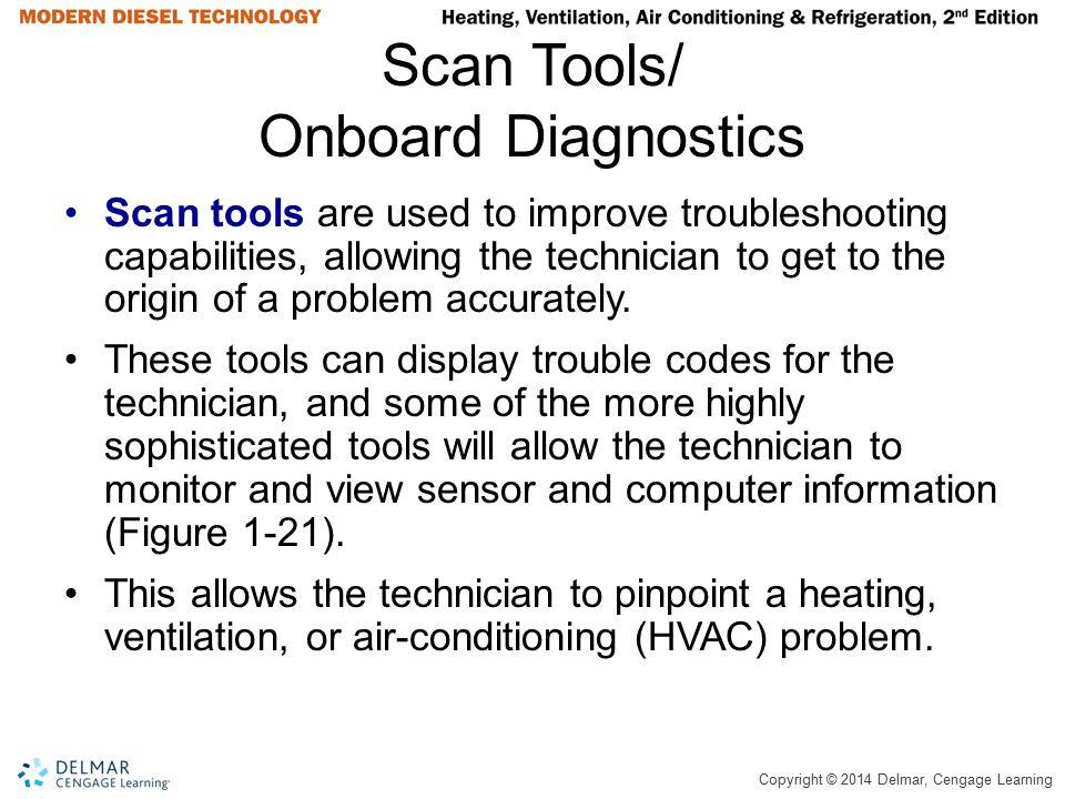 Scan Tools/ Onboard Diagnostics