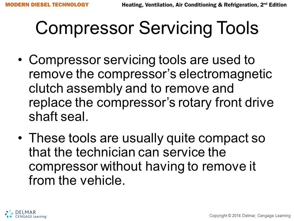 Compressor Servicing Tools