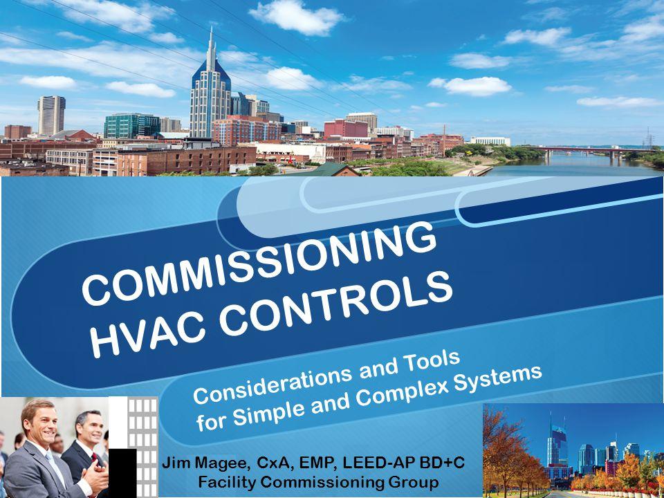 COMMISSIONING HVAC CONTROLS